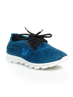 Кроссовки синие | 4859453