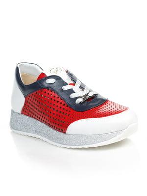 Кросівки триколірні | 4855699