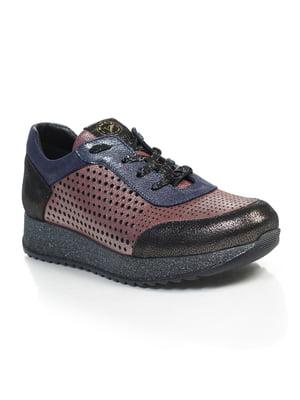 Кросівки триколірні | 4855680
