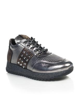 Кросівки сріблястого кольору | 4843086