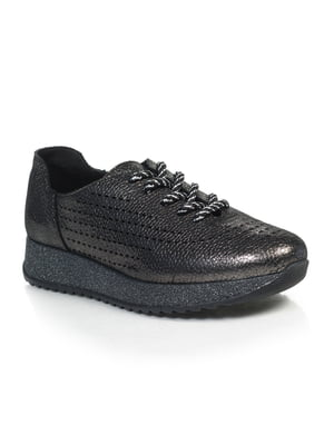 Кросівки нікелевого кольору | 4855702