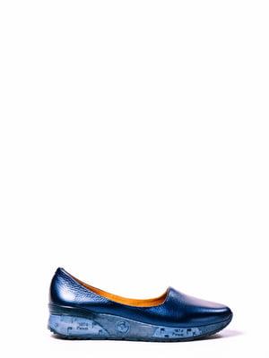 Туфлі сині   4860283