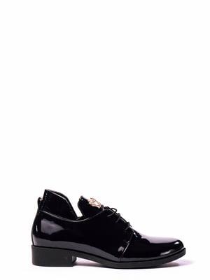Туфлі темно-сині | 4860293