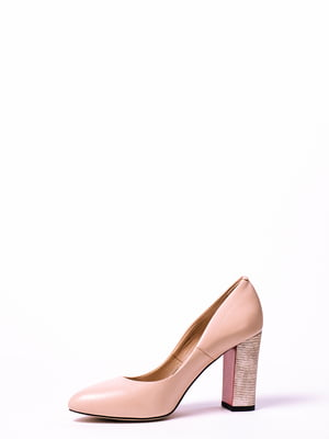Туфли цвета пудры | 4860300