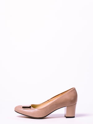 Туфлі кольору капучино | 4860312