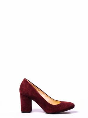 Бордові туфлі | 4860319