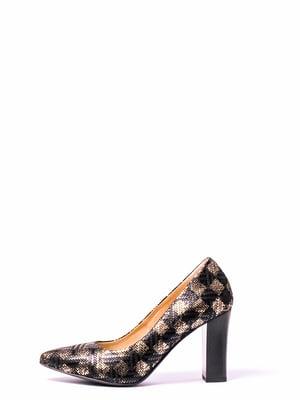 Туфли в шахматный рисунок | 4860330