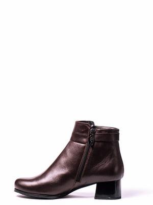 Ботинки коричневые | 4860334