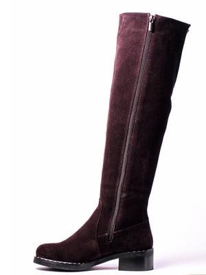 Сапоги фиолетовые | 4860351