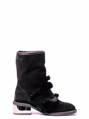 Ботинки черные | 4860361