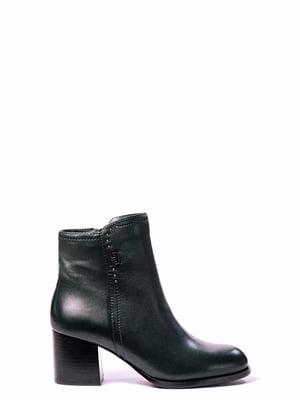 Ботинки темно-зеленые | 4860380