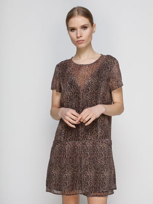 Сукня анімалістичного забарвлення | 2109560