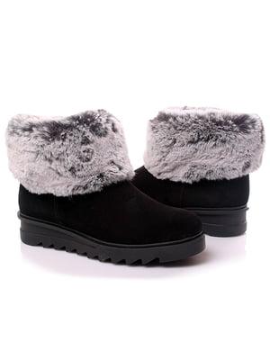 Ботинки черные | 4861250