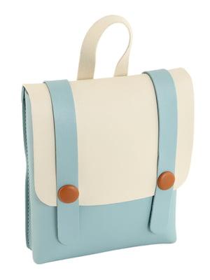 Сумка-рюкзак двоколірна | 4861332