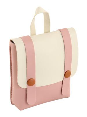Сумка-рюкзак двоколірна | 4861334