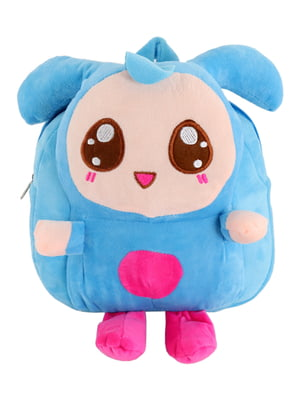 Рюкзак блакитний в малюнок | 4861336
