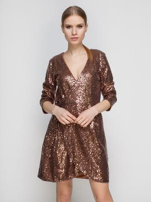 Платье золотистое | 4789411