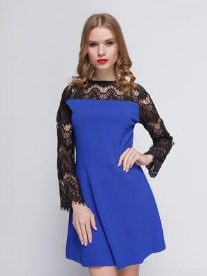 Сукня кольору електрик | 3182307