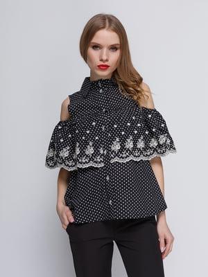 Блуза черная | 3352776