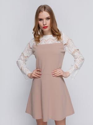 Сукня бежева | 3182306