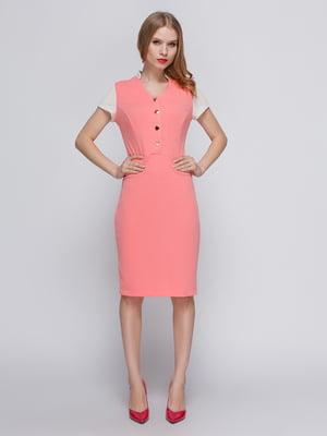 Платье коралловое | 2380681