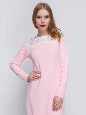 Платье розовое | 3182302