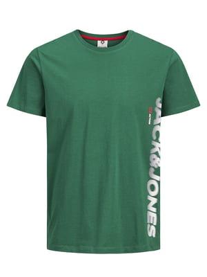 Футболка зелена | 4861979