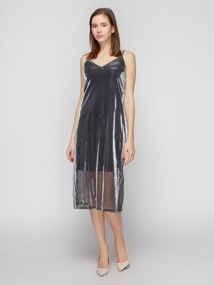 Сукня срібляста | 4789571