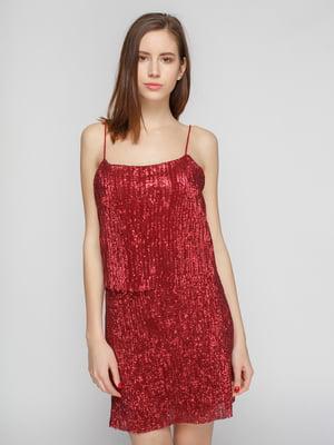 Сукня винного кольору | 4789773