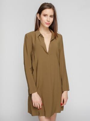 Сукня кольору хакі | 4789887