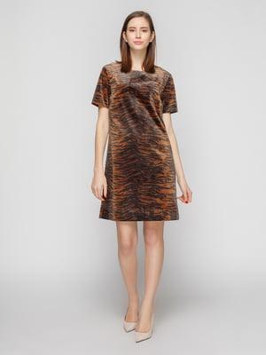 Сукня анімалістичного забарвлення | 4789870