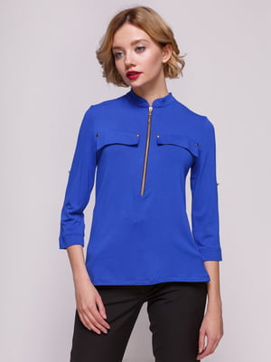 Блуза цвета электрик | 3507161