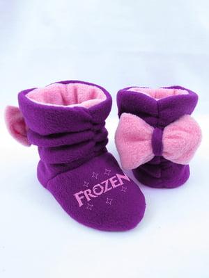 Тапочки фіолетові | 4864317