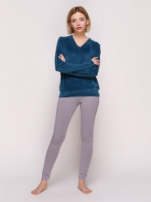 Пуловер смарагдового кольору | 4861404