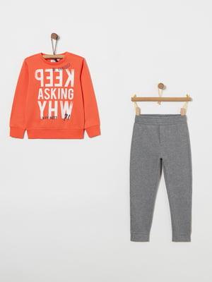 Комплект: світшот і штани | 4864383