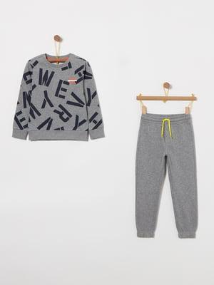 Комплект: світшот і штани | 4864384