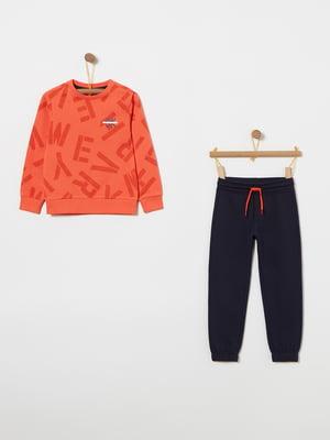 Комплект: світшот і штани | 4864386