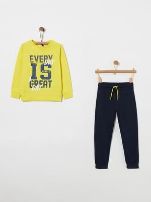 Комплект: свитшот и брюки | 4864389