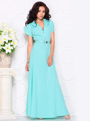 Платье голубое | 4619633