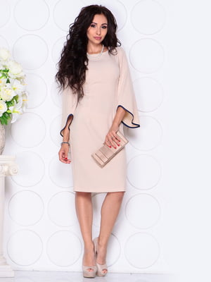Платье бежевое | 4619730