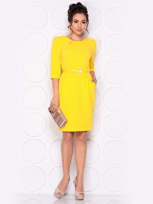 Платье желтое | 4865246