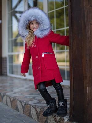 Пальто красное | 4865802