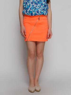 Юбка оранжевая   4617353