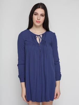 Платье синее | 2109692