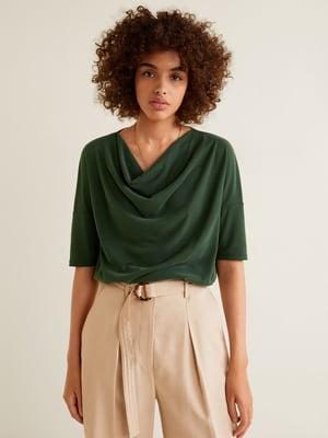Блуза зеленая   4618654