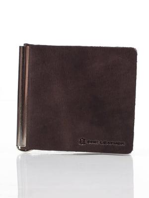 Затискач для купюр коричневий | 4178306
