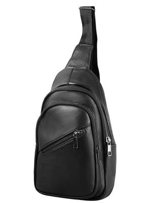 Сумка-рюкзак чорна   4856076