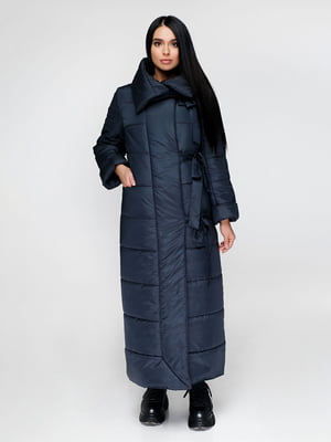 Пальто темно-синее | 4828106