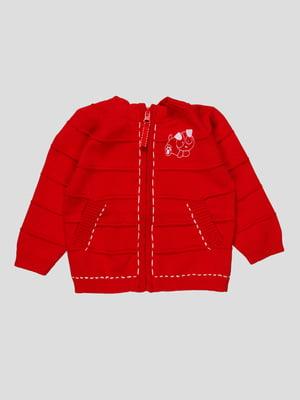 Кофта червона | 3433568