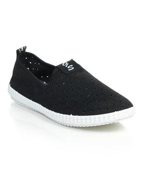 Кроссовки черные | 4865618
